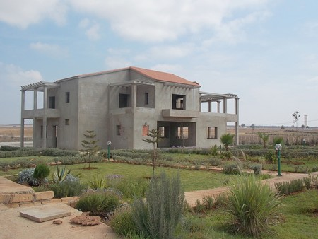 Construire maison campagne maroc